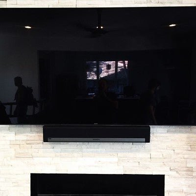 "@sony and @sonos make a great team! My customer wanted to mount his new Sony 75"" 940 and Sonos Playbar over his beautiful fireplace. #noav #neworleans #audiovideo #nola #lakeview #louisiana #usa #sony #led #tv #tvmounting #tvmount #beautiful #fireplace #sonos #playbar #love #this #soundbar #audiovisual #hometheater #homecinema #happycustomer #avlife #lovewhatyoudo"