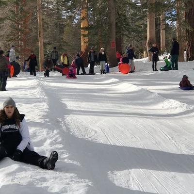 video by kissesandcupcakes containing snow winter winter sport freezing ice - Christmas Mountain Tubing
