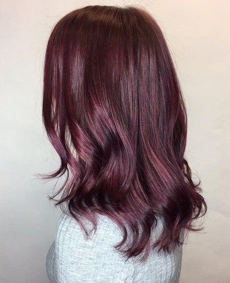 Chestnut Maroon Brown Vegan Semi Permanent Hair Dye Lime Crime