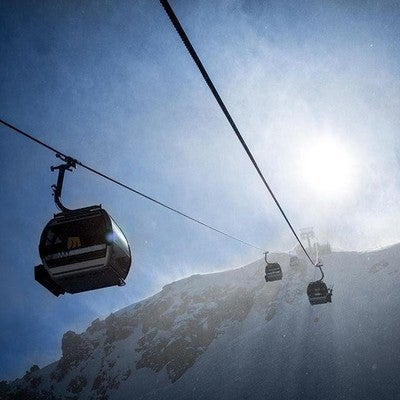 905e5559b4a51b image by christianpondella containing cable car, sky, mountainous  landforms, mode of transport,