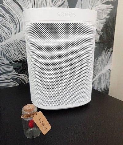 Sonos  #sonosone #speaker #spotify #newtoy #sonosalexa #multiroom #iHummingbird #smarttech #love