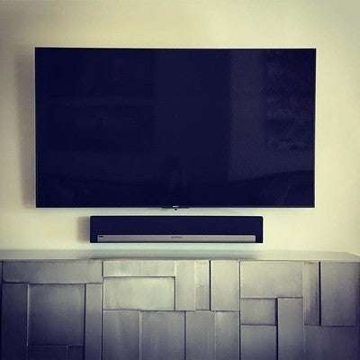 Installed in time for the holiday. #Sony #Sonos #playbar #onetouchautomation #lastminuteinstallcalls
