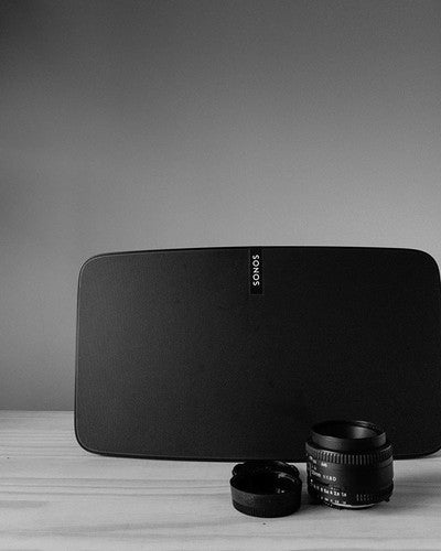 #sonos #play5 and #50mm #lens.... two of my #favorite things #music and #photography