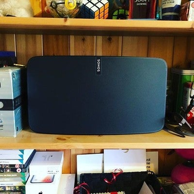 Sonos Play:5 finally set up. This speaker is nothing short of incredible. Highly recommend #speaker #Sonos #play5 #like #bristol #iphonex #shotoniphone