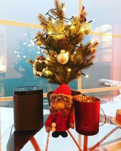 Klar for litt julemusikk nå! 11 dager igjen!!! #sonos #play1 #hifijul