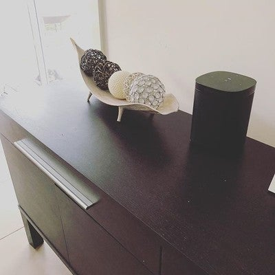 I'm a happy little music listener with my first Sonos speaker #SonosAtHome #sonosone can't wait for Alexa to become available in Australia @sonos