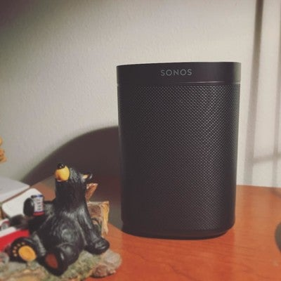 Also treated myself to my first Sonos speaker love the sound so much #music #sonos #one