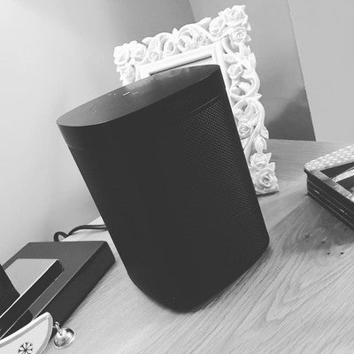 My Christmas present is a @sonos off the wife #christmas #gift #black #sonos #sonosone #present #music #alexa #alexavssiri #xmas #needmore