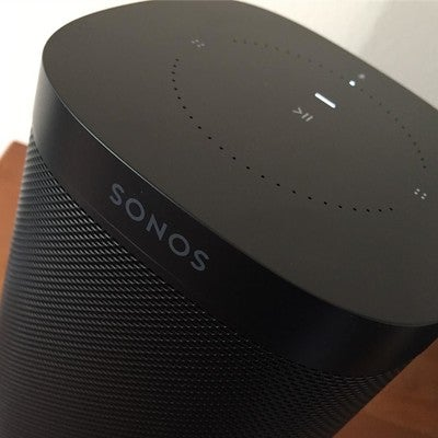 Surprise crimbo pressie from the wife  @hannylulu The new Sonos One with Alexa voice control  @sonos #sonos #sonosone #lovemusic #amazonmusic #applemusic