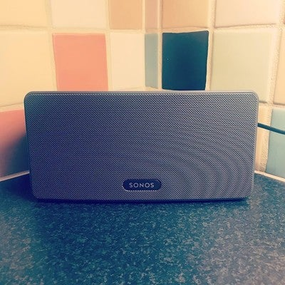 New Xmas Toy .  #sonos #play3 #toogood #base #baseinyourfacelondon #boystoys