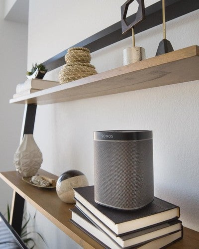 #shelfie w/ @sonos  #audio #waves #westelm #westelmphoenix #mywestelm #play1 #music #phoenix #phx #elevationoncentral #uptownplaza #wireless #sound #sonos #wifi #arizona #speaker #dtphx