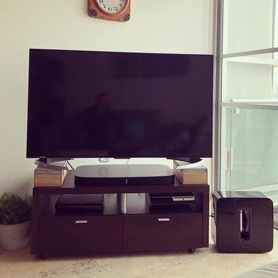 Sonido #Sonos Ha llegado a casa ... #PlayBase #SubWoofer Pa' Tumbar la Casa Mami  Marc y Su Regalo Navideño