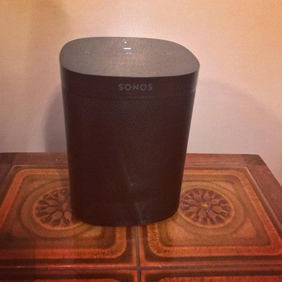 Sweeeeeet. New toy. #sonosone #sonos #spotify #tunes