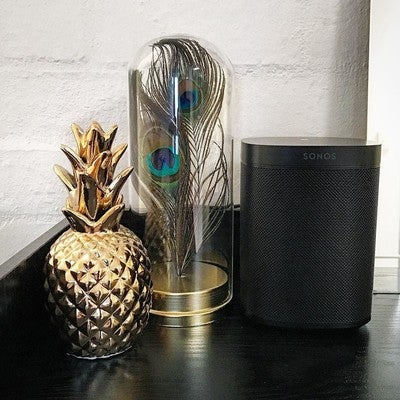 Black and gold... with a bit of blue and green #sonos #sonosone #kmartaus #kmartaustralia #kmart