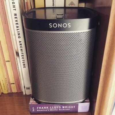 True music. #sonos #play1 #architecture #franklloyd #truebass #sound #homecinema #music #instamusic