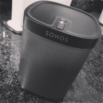Love the sound of @Sonos #Sonos #Play1 #Play5 #Rooms #Addictive   #KRe