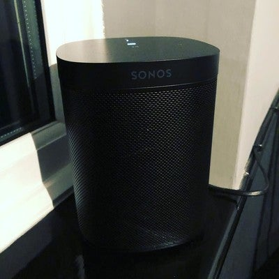 My new @sonos One!  #sonos #sonosone #instatech #techgram #speaker #surround #music #alexa #amazonalexa
