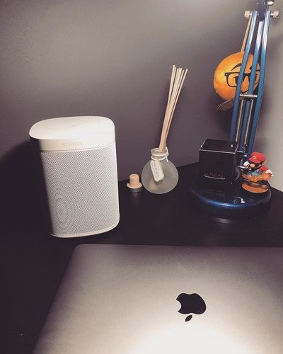 Another #SonosOne added to the family. Don't touch me.