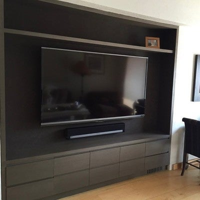 Playbar SONOS  #playbar #soundbar #sonos #hifi #happyclient #decibelhouse #hightech  Mueble de @kalbinteriores