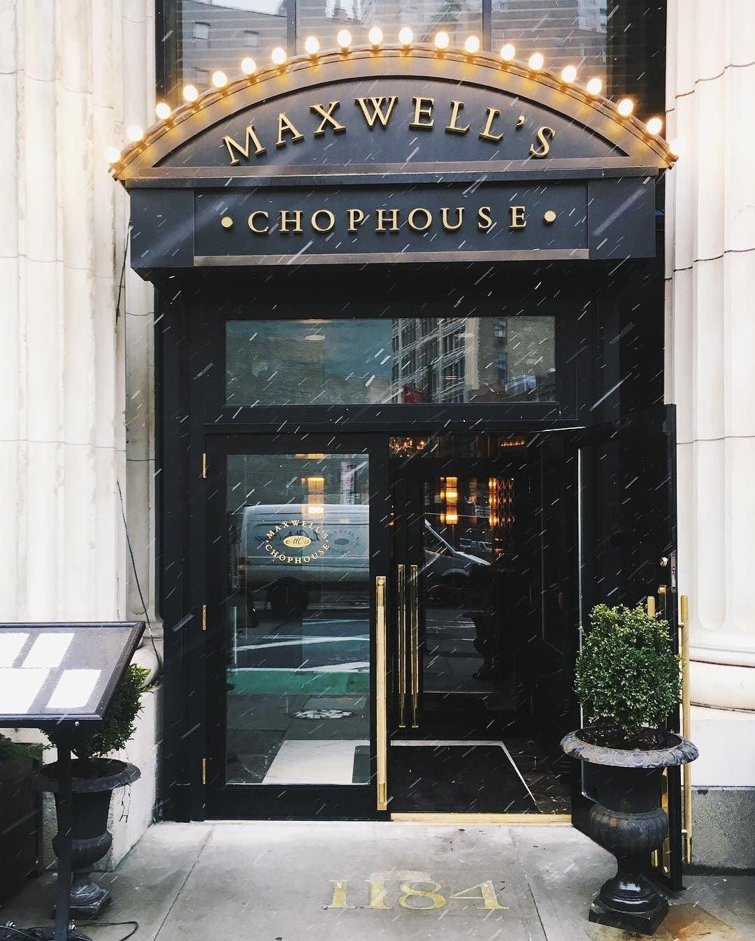 & Maxwell\u0027s Chophouse \u2013 a MICHELIN Guide Restaurant in New York City