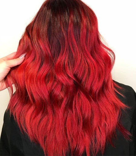 Image By Limecrimemakeup Containing Hair Red Human Color Wig Coloring