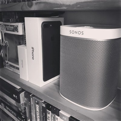 Made a purchase today. Oops. #sonos #play1