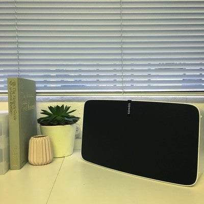 This new #Sonos #play5 is a little banger! Sounds great and beautifully finished too.