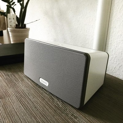 Play it louder  @sonos . #sonos #play3 #music #home #niceone