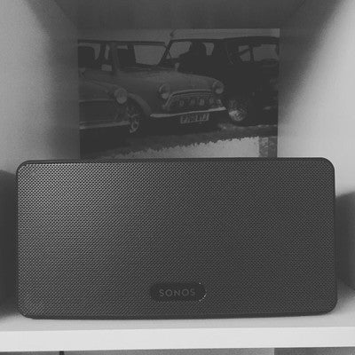 Welcome to the family #sonos #play3