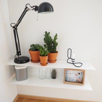 #interiordesign#interior#interior123#decor#deko#homedecor#inspiration#myhome#newhome#frauundkind#essbereich#lampe #light #tischleuchte #wandregal#ikea#ikearegal#botkyrka#forsa#sonos#play1#haydesign#lup#kerzenständer#kaktus#kakteen#tontopf#mygarden#solebich