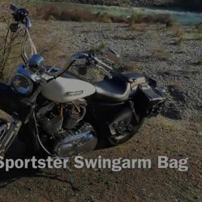 Sportster Motorcycle Swing Arm Bag