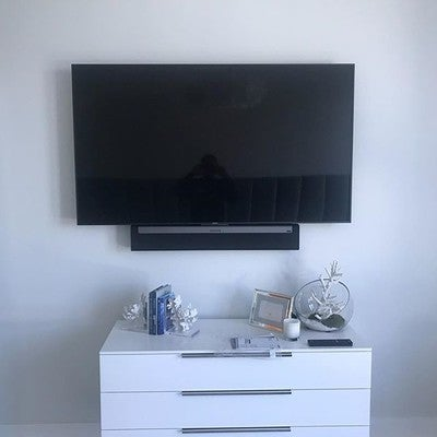 "65"" #sony #audiovideocontrol #hometheater #avinstall #sonos #playbar #audiovisual"