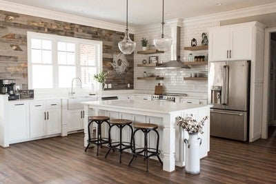 Image By Stikwood Containing Countertop Kitchen Room Floor Wood Flooring