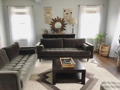 Sven Shadow Gray Sofa - Sofas - Article | Modern, Mid-Century and ...
