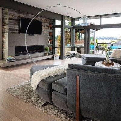 Image By Stikwooddesign Containing Living Room Interior Design Floor Flooring Window