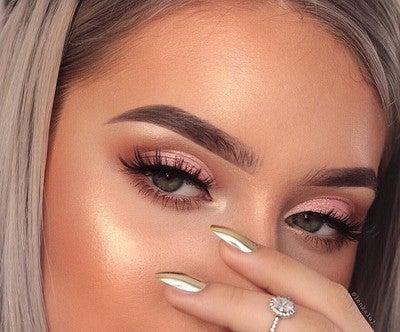 image by morphebrushes containing eyebrow, face, eyelash, cheek, human hair color
