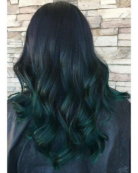 Sea Witch Rich Teal Vegan Semi Permanent Hair Dye Lime Crime