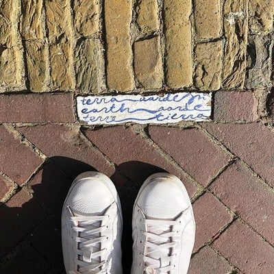 f98e950b83378 image by bklyner containing wall, brick, shoe, brickwork, road surface
