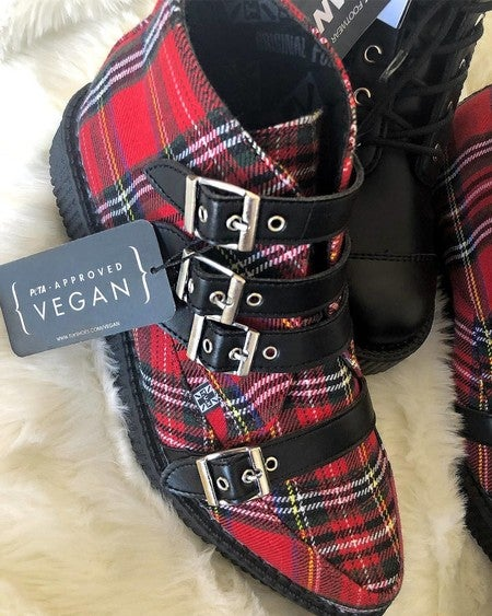 t u k footwear creeper shoes platforms punk boots vegan shoes