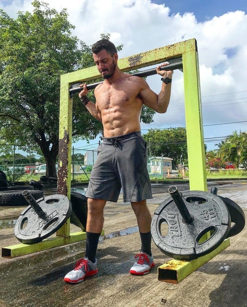 f9fd9e1011fb5 image by mario_nacca containing strength athletics, muscle,  barechestedness, physical fitness, arm