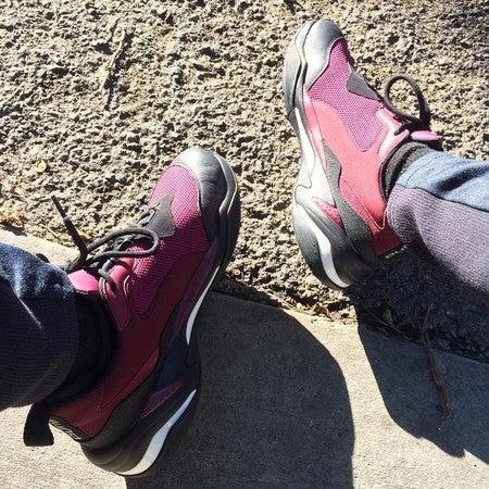 e39e35f62 image by korostyle containing footwear, shoe, pink, purple, leg