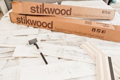 Image By Stikwood Containing Wood Floor Font Angle Flooring