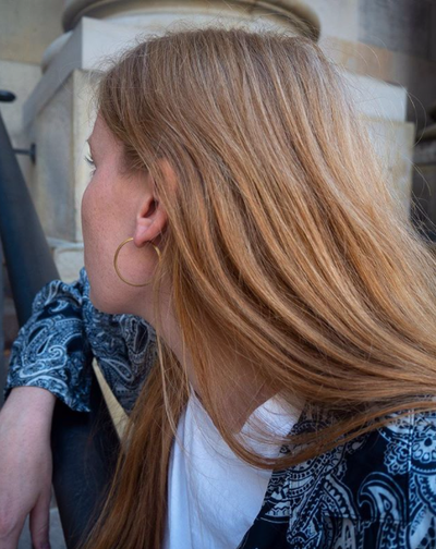 435a9aee image by Jane Kønig containing hair, blond, human hair color, hairstyle,  chin