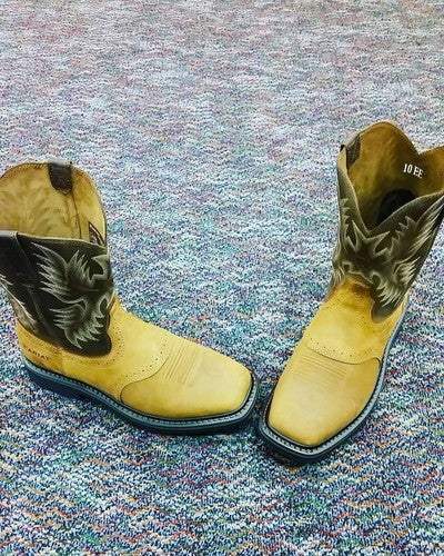 676ac5574fa Sierra Wide Square Toe Steel Toe Work Boot