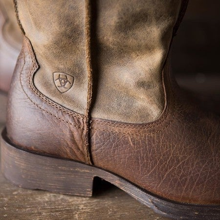 3c73004d44f Heritage Roper Wide Square Toe Western Boot