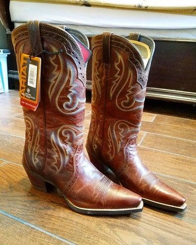 8523ccb13f9e4 Heritage Western X Toe Western Boot
