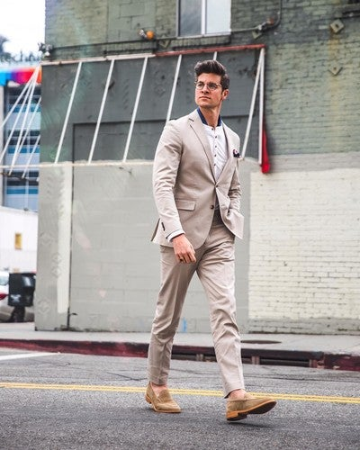 low priced 408f8 09cba image by parkeryorksmith containing Clothing, Street fashion, Suit,  Snapshot, Standing