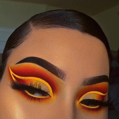 image by morphebrushes containing Face, Eyebrow, Eye, Eyelash, Eye shadow