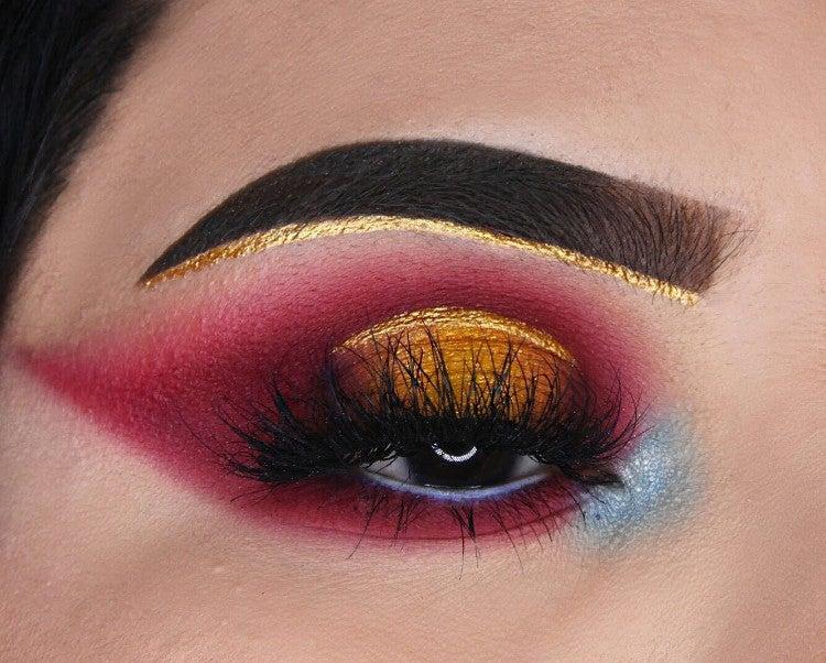 a845b3875ad4d image by Keyra Martinez containing Eyebrow, Eyelash, Eye, Face, Eye shadow