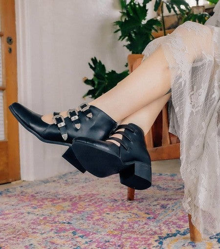 1e7f4c37bc image by tuk_footwear containing Footwear, Leg, Black, High heels, Human leg